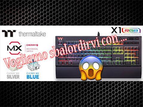 Tastiera Meccanica X1 RGB by TteSPORTS