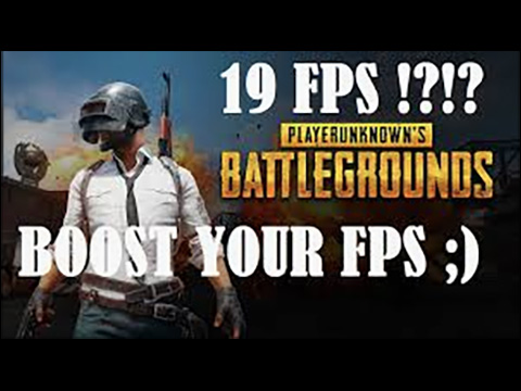 BOOST FPS IN YOUR PC – PUBG FPS IMPROVE GUIDE