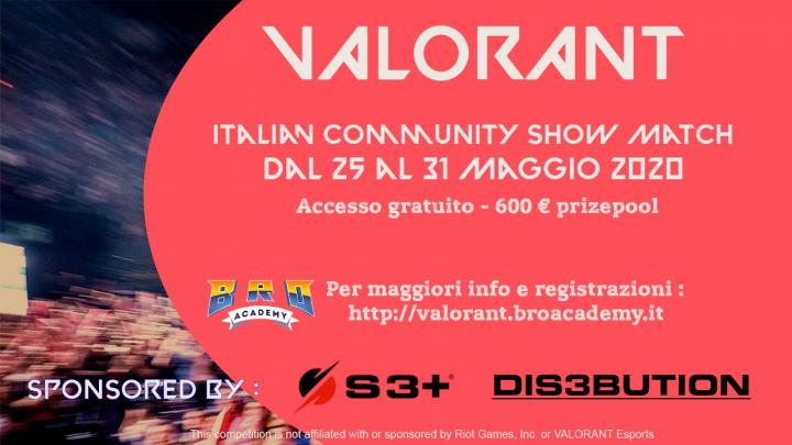 VALORANT – Italian Community ShowMatch